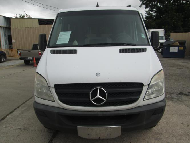 2012 WHITE /GRAY MERCEDES BENZ SPRINTER with an V6 engine, AUTOMATIC transmission, located at 9172 North Fwy C, Houston, TX, 77037, (713) 910-6868, 29.894211, -95.411324 - Photo #1